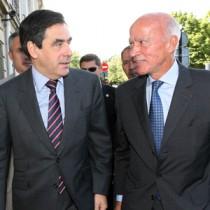 Thierry Saussez et le Premier Minsitre François Fillon